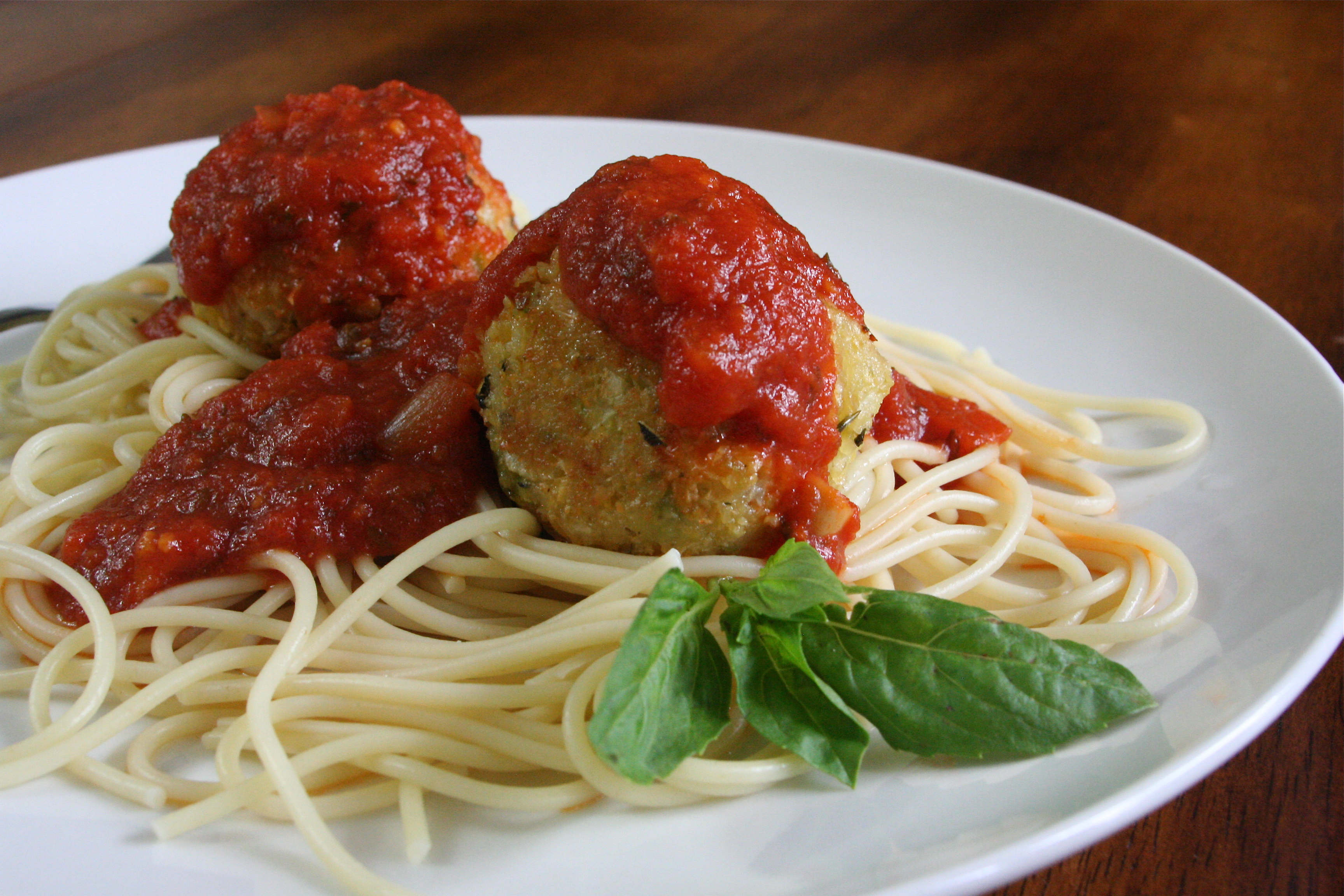 meatless meatballs - vegetarian dinner recipe